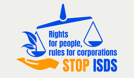 Stop ISDS campaign 2019