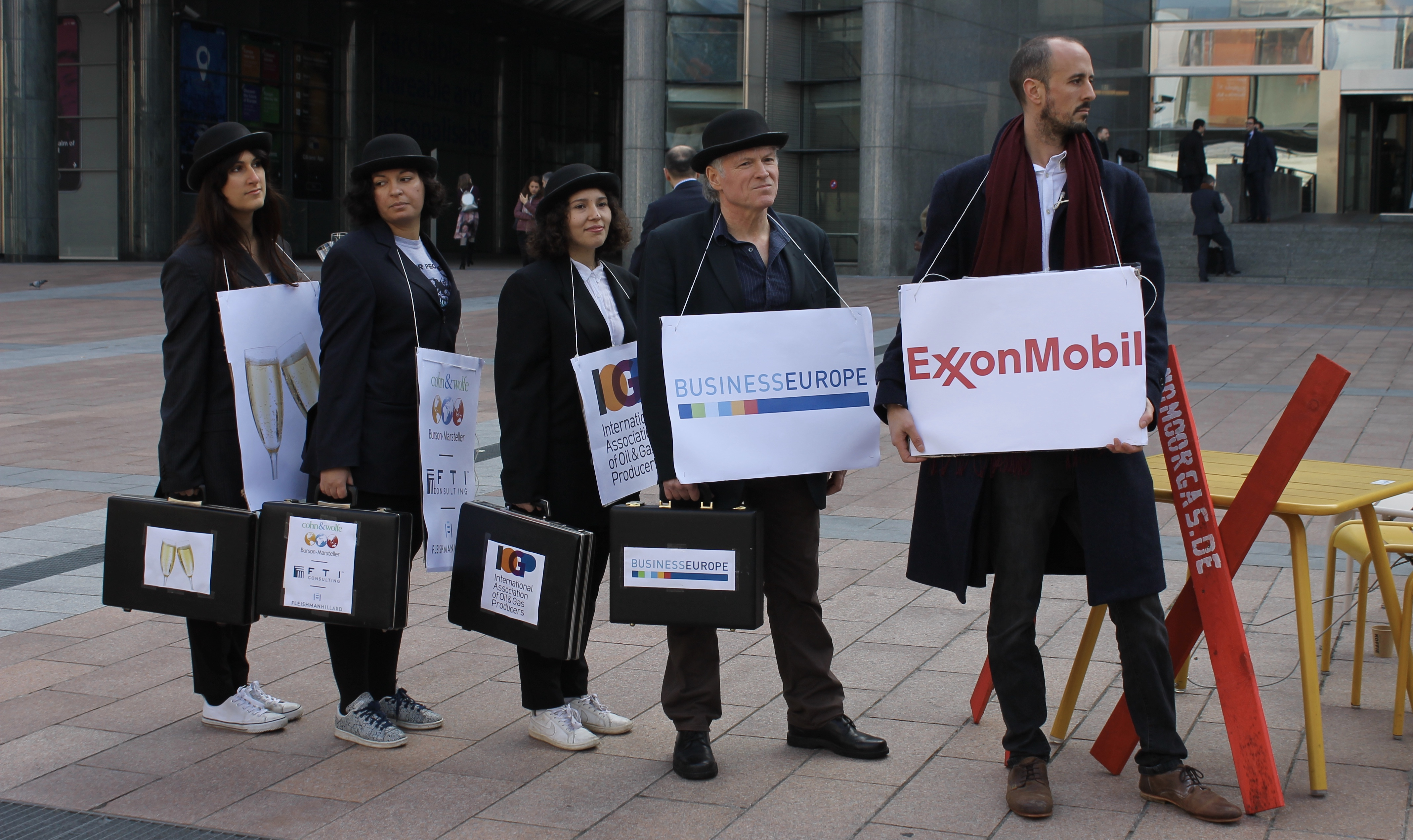 Exxon and its lobby groups