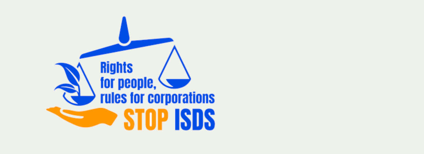 Sign the petition: stop ISDS