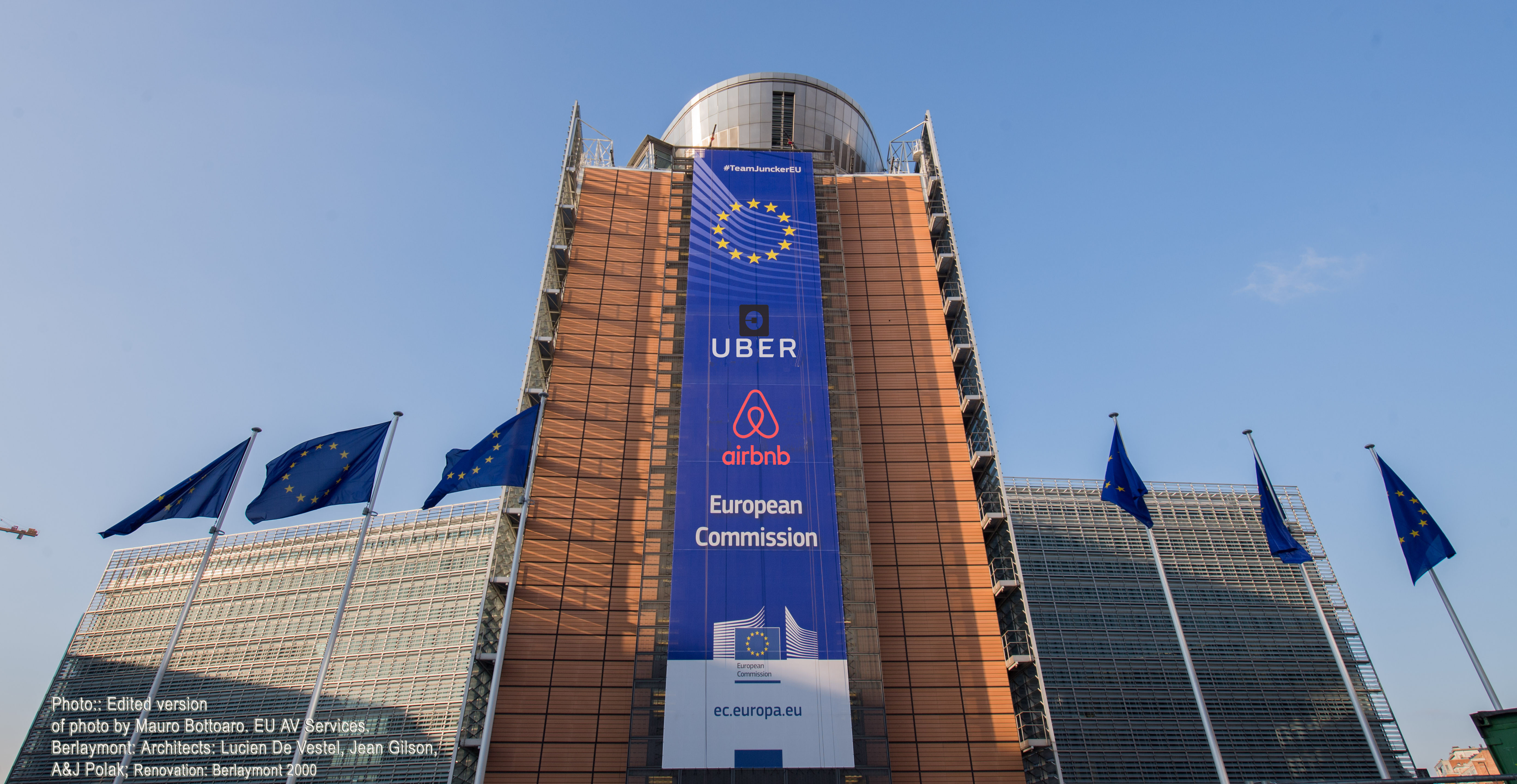 Uber, Airbnb and the European Commission