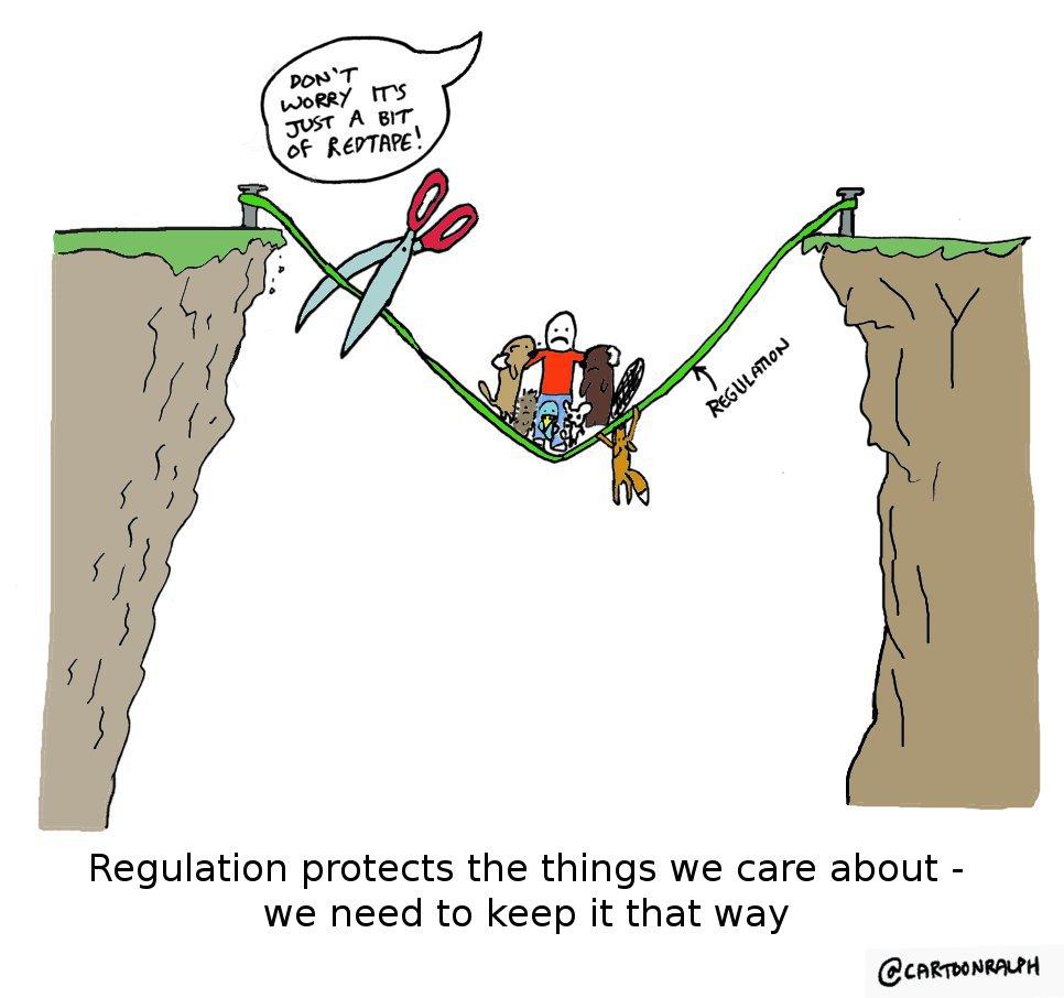 Better Regulation cartoon