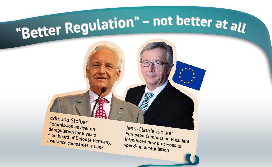 Better Regulation Stoiber Juncker