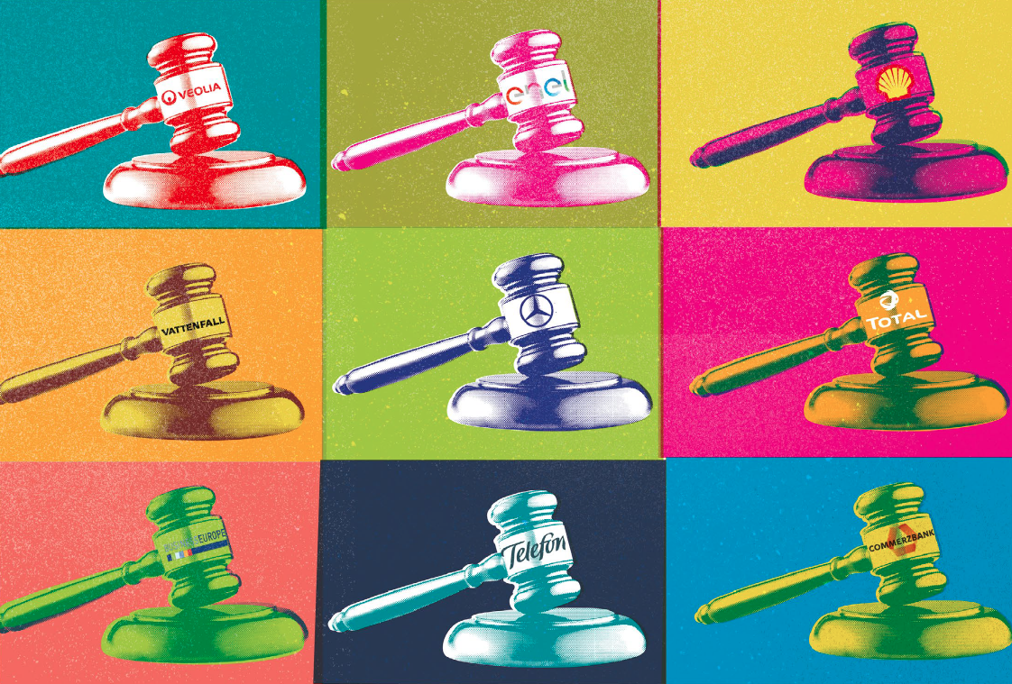 Corporate courts image