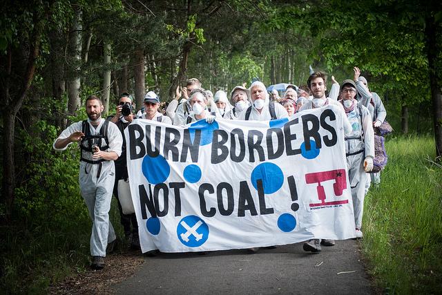 Burn Borders, Not Coal!