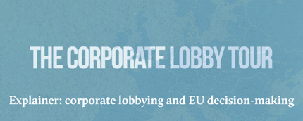 The corporate lobby tour