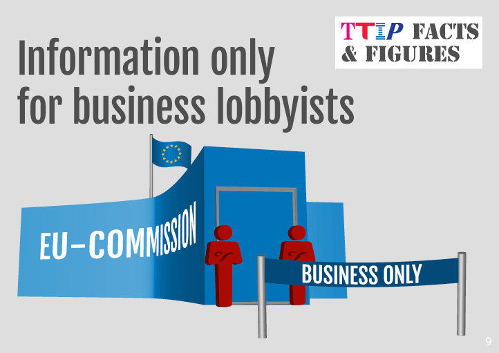 Information only for business lobbyists
