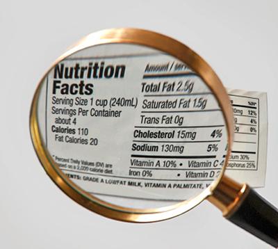 Food Ingredients of Cafinate Food
