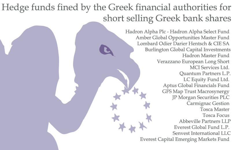 """Hedge funds vs Greece: lobbyists want """"cheap ticket"""" to speculation"""