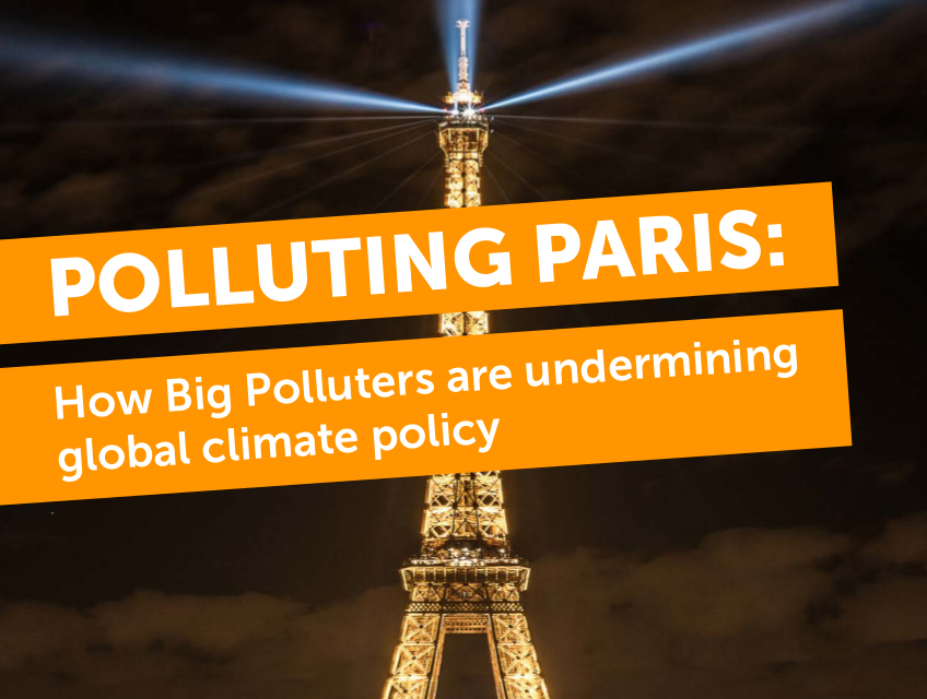 Image result for polluting paris report