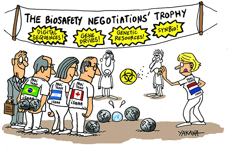 The biosafety negotiations' trophy