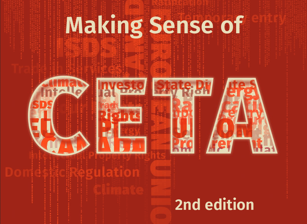 A New Study Analyses The Eu Canada Trade Deal Ceta Corporate