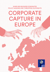 Corporate capture in Europe -- cover