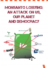 Monsanto lobbying cover