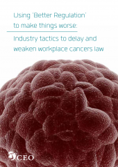 Occupational cancers report cover