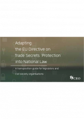 Trade secrets - report cover