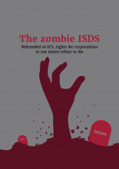 Zombie ISDS - report cover