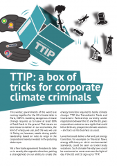 TTIP and climate - cover image