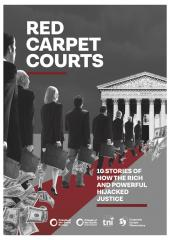 "Cover ""Red Carpet Courts"" report"