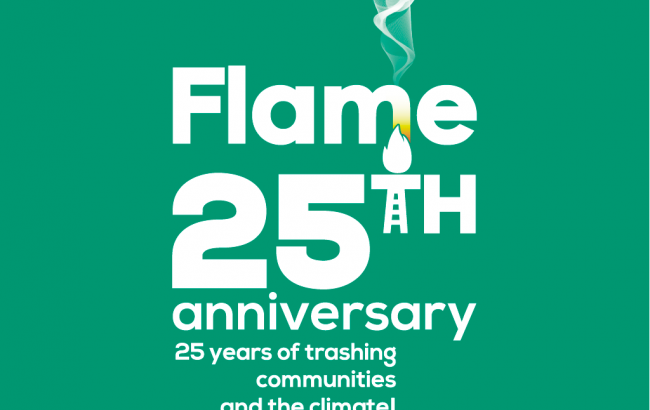 Flame 25th anniversary