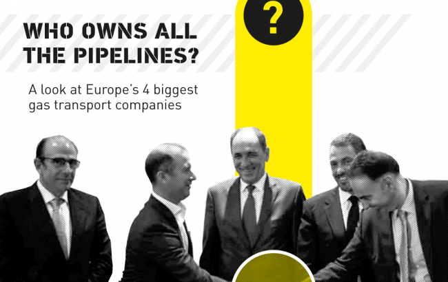 Who owns all the pipelines?