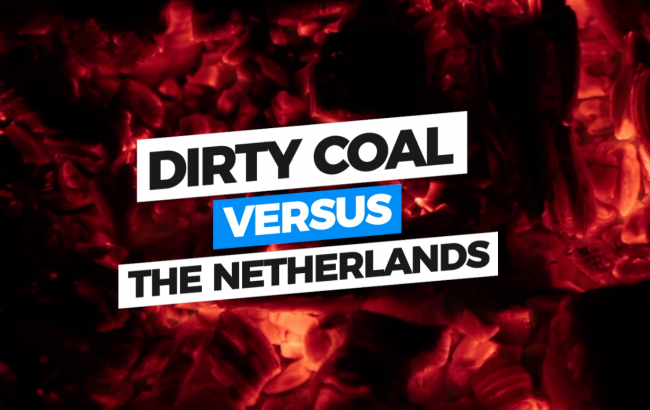 Video cover dirty coal versus the Netherlands