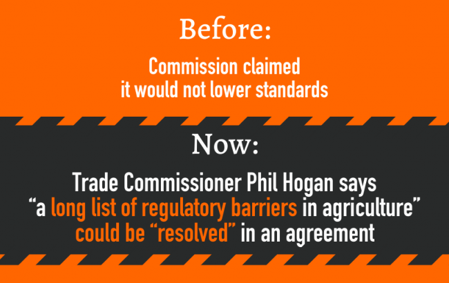 Commissioner Hogan and the EU-US trade talks