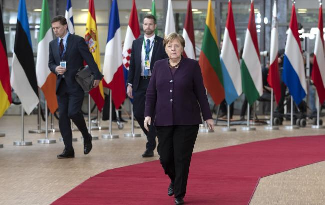 Merkel attends European Council