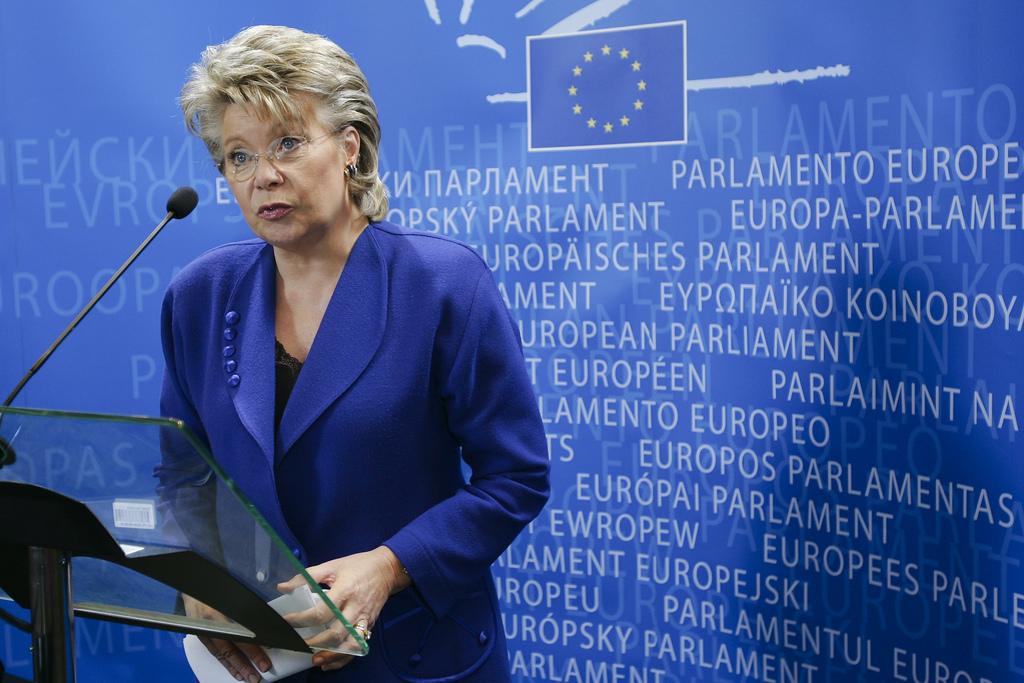 Viviane Reding - Picture:  DG EMPL